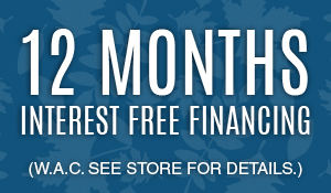 Why Settle? Finance the floor of your dreams! 18 Months Interest Free Financing (W.A.C. See store for detials)