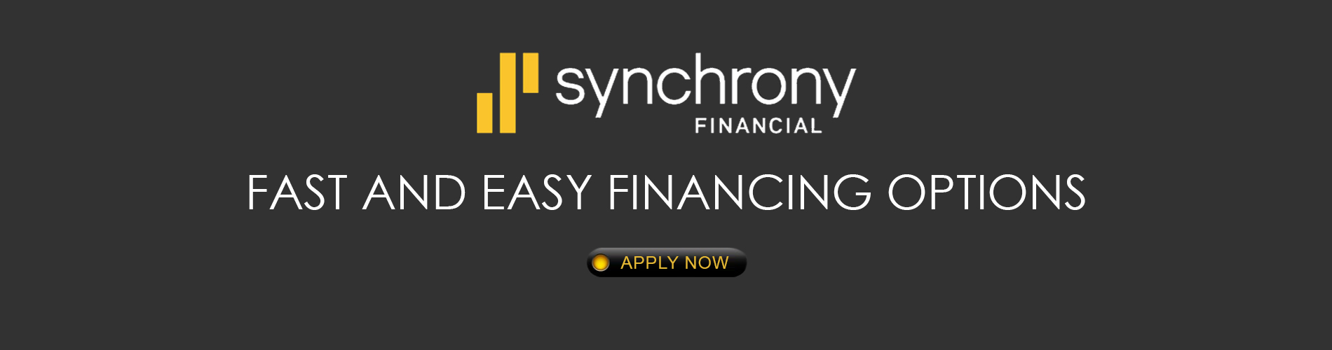 Synchrony Financial - Fast and easy financing options